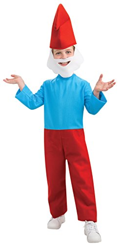 Rubie's Costume Smurfs: The Lost Village Child's Papa Smurf Costume, Multicolor, Large