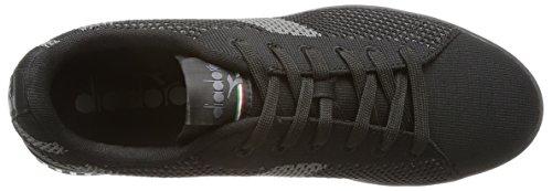 Weave Basso Diadora a Game Uomo Nero Sneaker Collo w5wXTAnqC