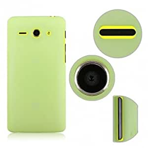 Snow Jade Protective Case For Huawei C8813 Mobile Phone --- Color:Green
