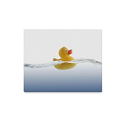 Amazon.com: Father\'s Day Gift Cute Rubber Duck Canvas Print Modern ...