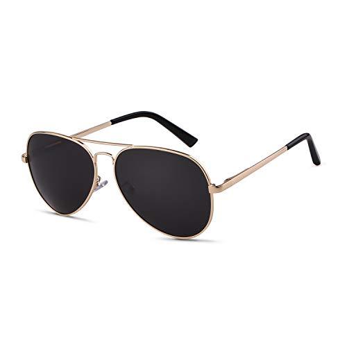 Aviator Sunglasses Men Women Polarized 80s 70s Sunglasses Classic Style ()