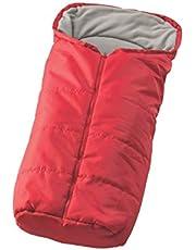 Nuvita 9405 Junior - Saco universal para sillas de paseo (Red - Dark Grey)