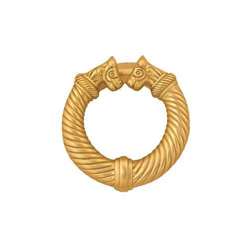 Celtic Torc Door Knocker - Brass (Premium Size)