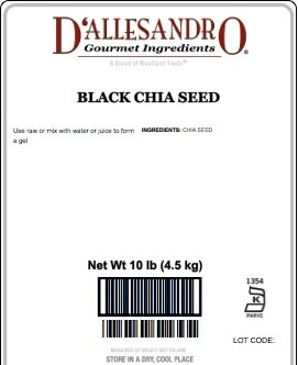 Black Chia Seed, 10 lb Bag: Amazon.com: Grocery & Gourmet Food