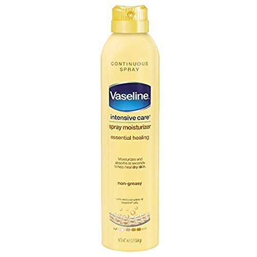 Vaseline Intensive Care Spray Moisturizer Essential Healing, 6.5 oz ( Pack of 3) by Vaseline