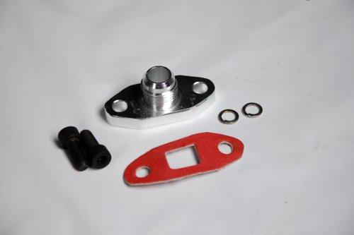 Turbo Oil Drain Flange 10an Fitting Fit Most of Turbonetics / Garrett / Precision / Brogwarner Big Name Brand