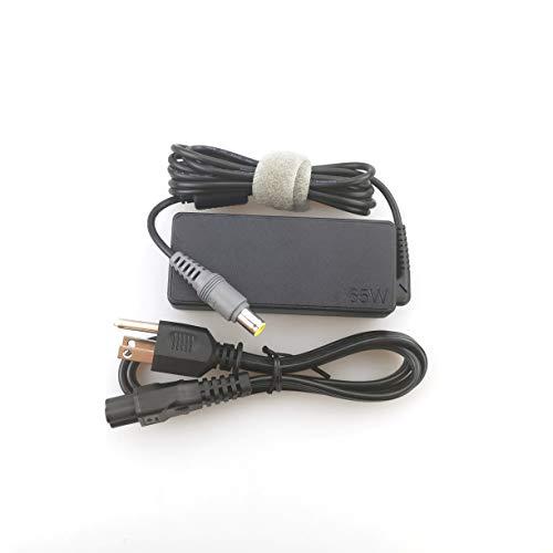Laptop Charger 65W watt Round Barrel tip AC Power Adapter for Lenovo T530 T520 T510 T430 T420 T410,X60S X301S X230 X220
