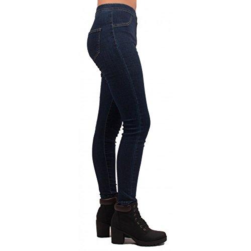 Brut Taille Jegging Jean Forme Brut Haute Primtex Femme Coloris lastique 71vSw7Uq