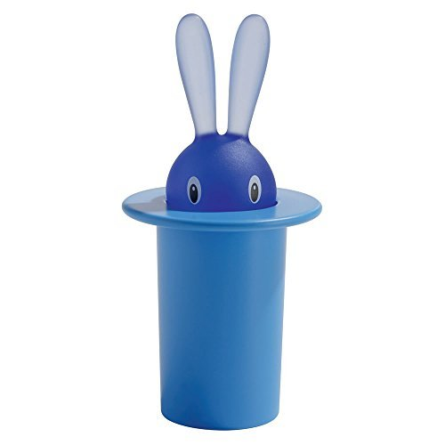 A di Alessi Magic Bunny Toothpick Holder, Blue by Alessi ()