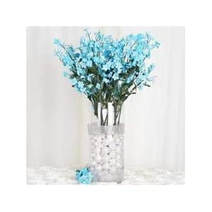 384 Turquoise Silk Baby Breath Filler Flowers Wedding Flowers Party Centerpieces 37