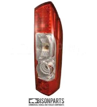 Rear Tail Light Lamp Lens RH/OS Without Bulb Holder BISON PARTS