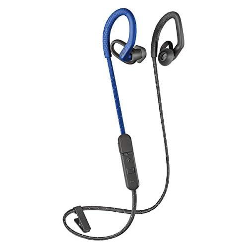 chollos oferta descuentos barato Plantronics BackBeat Fit 350 Bluetooth Auricular Deportivo En la Oreja Gris Azul Uni