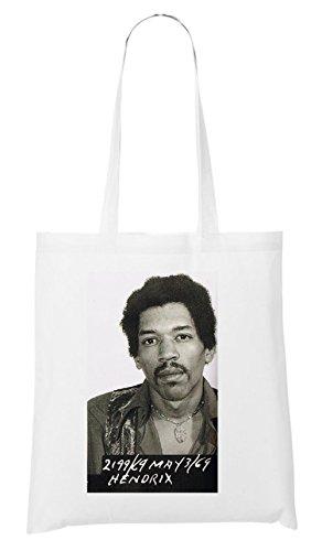 Hendrix Mugshot Bolsa Blanco