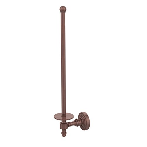 Allied Brass RW-24U/12-CA Retro Wave Collection Wall Mounted Paper Towel Holder, Antique (Copper Antique Paper Towel Holder)
