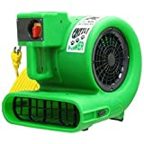 Floor and Carpet Dryer Blower - B-Air Grizzly .33 Hp Air Mover