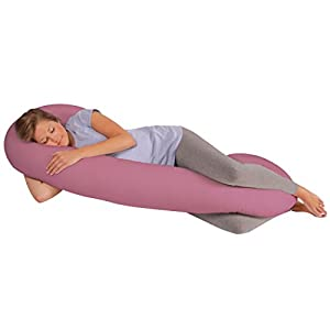 Leachco Snoogle Original Total Body Pillow, Mauve