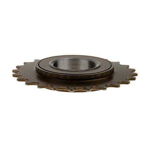 Copper Bike Bicycle 24T Tooth Freewheel Sprocket Gear 34mm Inner Diameter Thread