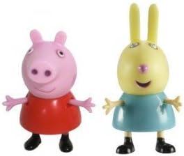 Figuras Peppa Pig y Rebecca Rabbit: Juguetes y juegos - Amazon.es