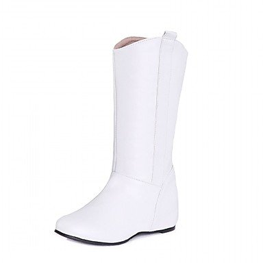 Low Spring Leather Winter 5 amp;Amp; EU36 Fall CN35 Casual Career 5 Leatherette Dress US5 amp;Amp; Novelty Patent Wedding RTRY Evening Women'S UK3 Heel Party Office Boots Comfort wIHE8