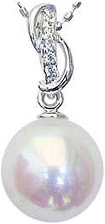 ペンダントトップ パール プラチナ ペンダントヘッド ダイヤ あこや本真珠 8.5mm アコヤ ダイヤモンド 0.03ct PT900 プラチナ 真珠ペンダントチャーム 記念日 お祝い 結婚式 パーティー