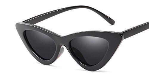 TIANLIANG04 Diseño De Uv Matices Sol Gafas De De Blanco Sexy Hembra Gafas C10 De Amarillo Gray Mal Mujer Gafas Vintage Ojo C1 Black Sol Gato Gafas ZqZwr8U