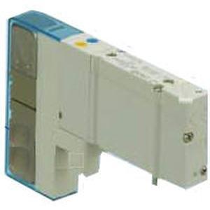 SMC SY5120-5DZ-C6-F2 valve - sy5000 sol/valve, rubber seal family sy5000 built in fitting <1/4 - valve, sgl sol, body pt, din