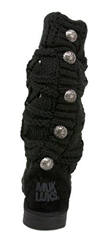 Crochette MUK Jamie Women's Black Winter LUKS Boot qxFfvnA