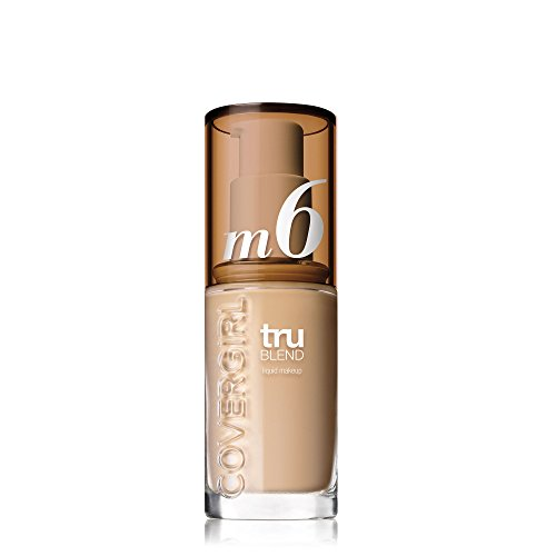 COVERGIRL truBlend Liquid Foundation Makeup Perfect Beige M6, 1 Ounce (packaging may vary)