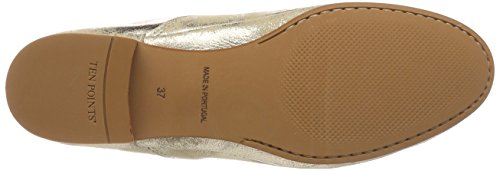 Ten Mocasines Points gold 613 Para New Mujer Toulouse Dorado rRwaqBrg
