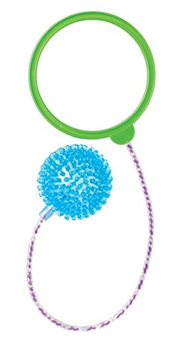 Toysmith NightZone Orbit Light Up Skip Ball - Colors Vary -
