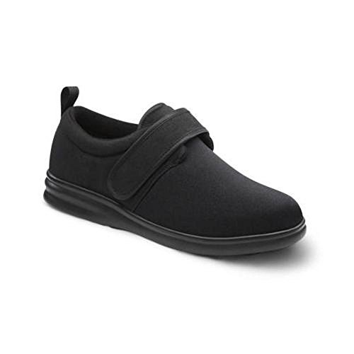 Dr. Comfort Marla Women's Therapeutic Diabetic Extra Depth Shoe: Black 8.5 X-Wide (XW/4E) Velcro by Dr. Comfort (Image #1)