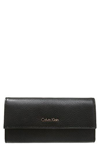Cartera Calvin Klein Charlene Large Trifold Black Negro: Amazon.es: Zapatos y complementos