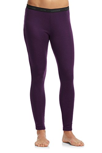 Icebreaker Women's Everyday Leggings, Vino, Medium (Wool Icebreaker Leggings)