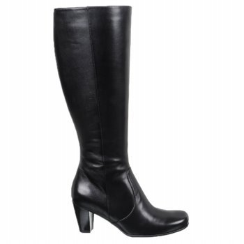 ECCO Women's Hanna Tall Boot 65 Mm Boot,Black,38 EU (US Women's 7-7.5 M)