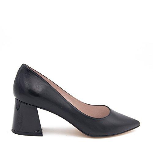 Eva López Escarpins Leder Damen Schuhe Klassische Schwarz