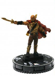 Heroclix Mage Knight: Resurrection Starter Set #104 General Marz Figure Complete with Card