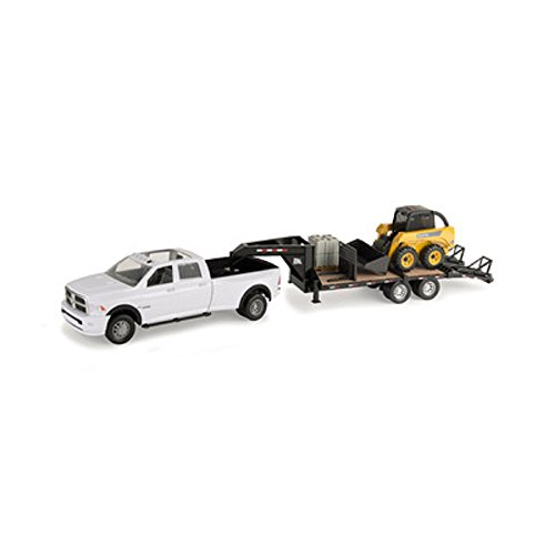 John Deere TOMY 1/16 Big Farm Truck with Skid Steer