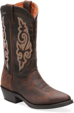 """DOUBLE-H- Men's Double-H Boots 12"""" Work Western Boots, CR..."""
