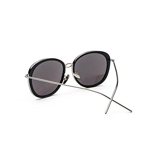 Aoligei Lunettes de soleil style star Big frame mode pour cent shopping lunettes section de marée v8c4IpRU