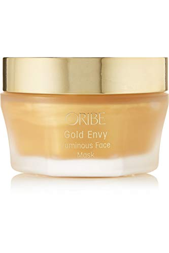 NIB Gold Envy Luminous Face Mask, 50ml + Free Trial Size Designer Beauty Gift with Purchase