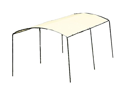 ShelterLogic 25867 Monarc Round Top Canopy, 10 x 18-Feet, Sandstone Cover by ShelterLogic