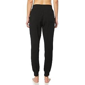 Baleaf Women's Active Yoga Lounge Sweat Pants With Pockets Black Size M