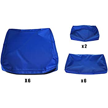 Amazon Com Outdoor Cushion Covers 6 Pack Deep Seat