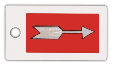 X-Ray Markers, Identifier Style Arrow - No Initials, 1