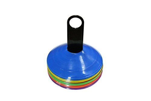 Trademark Innovations Plastic Disc Cone (Pack of 24), 2-Inch (Plastic Disk)
