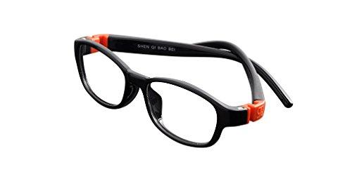 De Ding Tr90 Kids Multicolored Eyeglasses Frame - Multi Eyeglass Colored Frames