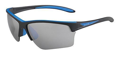 Bolle Flash Sunglasses Matte Black/Blue, - Running Bolle Sunglasses