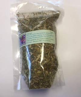 Herbs: Violet Leaf ~ Dried herb ~ 1 Oz ~ Wicca ~ Love ~ Spells ~ Ravenz Roost Herbs with Special Info on Label