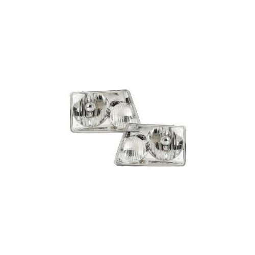 Ford Ranger Headlights OE Style Replacement Headlamps Driver/Passenger Pair (Ford Ranger Headlight Replacement)