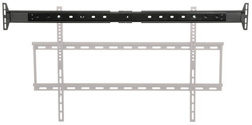 AVL1 - SPEAKER MOUNT ADAPTOR FOR TV BRACKET VESA COMPATIBLE NO DRILLING REQUIRED MAX WEIGHT 5KG PER SIDE 1640 x 120MM - Mount Max Weight